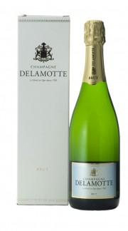 Champagne Brut Delamotte con confezione
