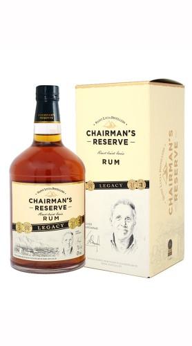 Rum Chairman's Reserve Legacy Saint Lucia Distillers