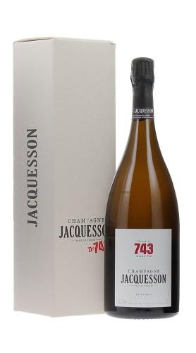 """""""Cuvee 743"""" Champagne Extra Brut Jacquesson Magnum con confezione"""