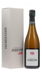 """""""Cuvee 743"""" Champagne Extra Brut Jacquesson con confezione"""