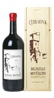 Brunello di Montalcino DOCG Cerbaiona 2012 Magnum in Box di Legno