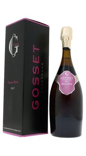 """Grand Rosé"" Champagne Brut Rosé Gosset con confezione"