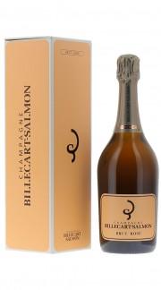 Champagne Brut Rosé Billecart Salmon con confezione