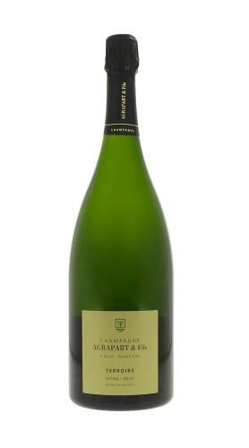 """Terroirs"" Champagne Extra Brut Blanc de Blancs Grand Cru Agrapart MAGNUM"
