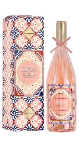 """""""Rosa Dolce&Gabbana"""" Sicilia DOC Rosato Donnafugata 2020 Astucciato"""
