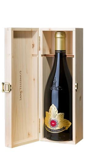 """Sanctissimus"" Pinot Bianco Riserva A.A. DOC Kellerei St.Pauls 2016 in Cassetta di Legno"