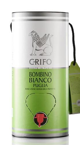 Bombino Bianco Puglia IGP Crifo 2020 - White Edition Bag in Tube 3 litri