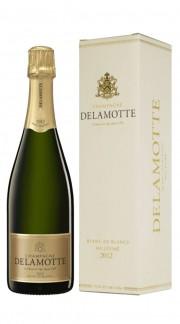 Champagne Brut Blanc de Blancs Delamotte 2012 con confezione