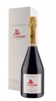Champagne Cuvèe des Caudalies Blanc de Blancs Grand Cru De Sousa con confezione