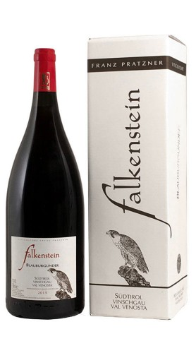 """Blauburgunder"" Alto Adige Val Venosta DOC Falkenstein 2016 Magnum con Confezione"