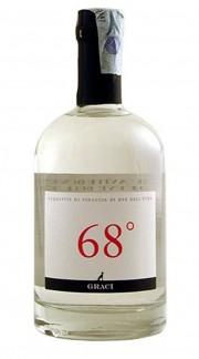 """""""68°"""" Acquavite di vinaccia di uve dell'Etna 68% Graci 50 cl"""