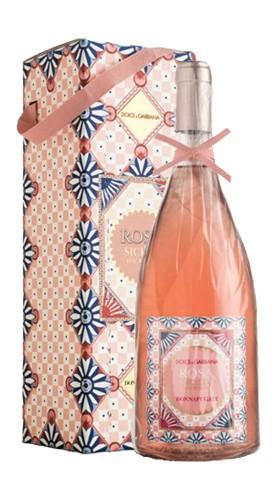 """""""Rosa Dolce&Gabbana"""" Sicilia DOC Rosato Donnafugata 2020 MAGNUM Astucciato"""