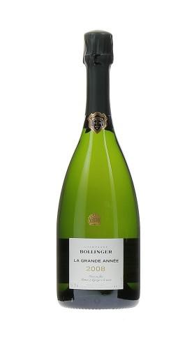 """""""LA GRANDE ANNEE"""" Champagne AOC BOLLINGER 2008"""