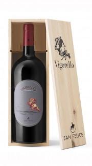 """""""Vigorello"""" Rosso Toscana IGT San Felice 2016 MAGNUM in Box di Legno"""