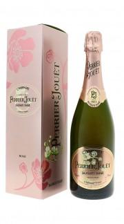 """""""Blason Rosé"""" Champagne Brut Perrier Jouet Astucciato"""
