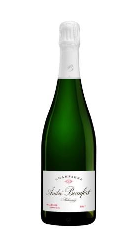 Champagne Brut Grand Cru Ambonnay Millesime André Beaufort 2008