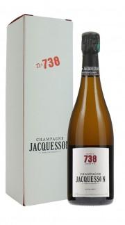 """""""Cuvee 738"""" Champagne Extra Brut Jacquesson con confezione"""