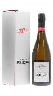 """""""Cuvee 737"""" Deg. Tardif Champagne Extra Brut Jacquesson con confezione"""