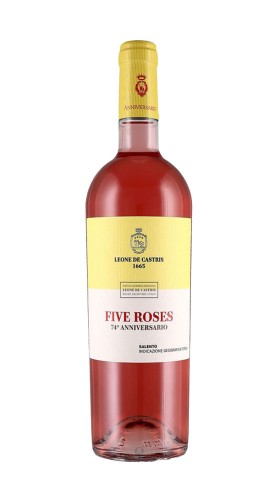 """Five Roses Anniversario"" Salento IGT Rosato Leone de Castris 2019"