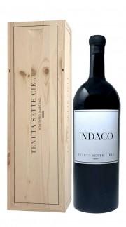 """""""Indaco"""" Toscana Rosso IGT Tenuta Sette Cieli 2014 Magnum con Box di Legno"""