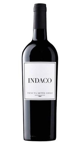 """""""Indaco"""" Toscana Rosso IGT Tenuta Sette Cieli 2016 Magnum con Box di Legno"""