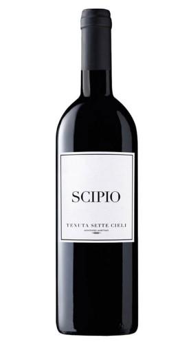 """""""Scipio"""" Toscana IGT Tenuta Sette Cieli 2015 Magnum con Box di Legno"""