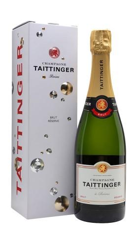 Champagne Brut Reserve Taittinger con confezione