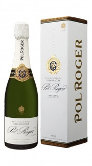 Champagne Brut Reserve Pol Roger con confezione