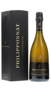 Champagne Extra Brut Blanc de Noirs Philipponnat 2012 con confezione