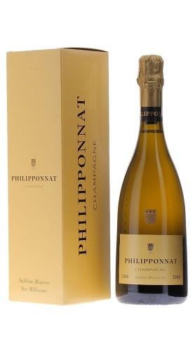 Champagne Sublime Reserve Sec Philipponnat 2008 con confezione
