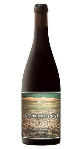 """""""Vitae Springs Vineyard"""" Pinot Noir Authentique Wine Cellars 2016"""