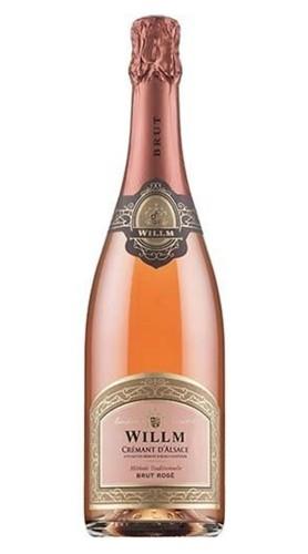 Crémant d'Alsace Brut Rosé AOC Alsace Willm