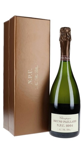 """""""N.P.U. 2004"""" Champagne Extra Brut Grand Cru Paillard con confezione"""