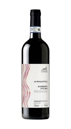 """""""Valbianchera"""" Vecchie Viti Barbera d'Alba DOC Almondo Giovanni 2017"""