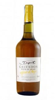 """Calvados """"Hors d'Age"""" Domaine Dupont 6 anni 70 cl Con Confezione"""