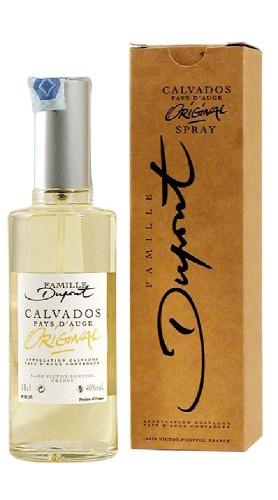 "Calvados ""Original Spray"" Domaine Dupont 10 cl con Confezione"