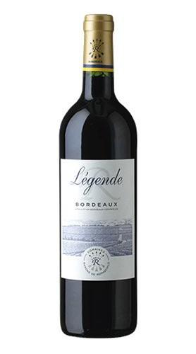 """""""Légende R"""" Bordeaux Rouge AOC Baron Edmond De Rothschild 2018"""