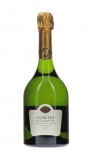 Champagne Brut Comtes de Champagne Blans de Blancs Taittinger 2007 con confezione