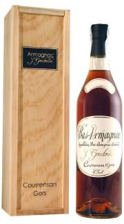 Bas - Armagnac 1900 Veuve Goudoulin 1900 70 cl con Box di Legno
