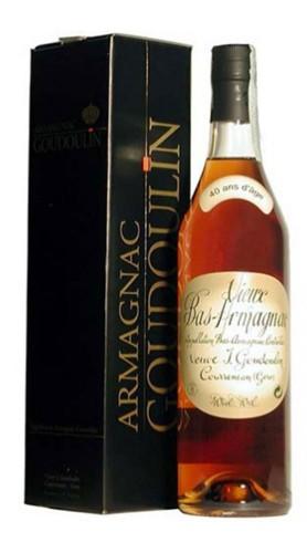 Bas - Armagnac Veuve Goudoulin 40 Anni con Confezione