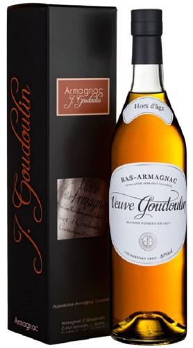 """Bas - Armagnac """"Hors D'Age"""" Veuve Goudoulin con Confezione"""