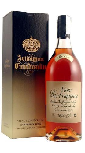 """Bas - Armagnac """"Rèserve"""" Veuve Goudoulin Magnum Con Confezione"""