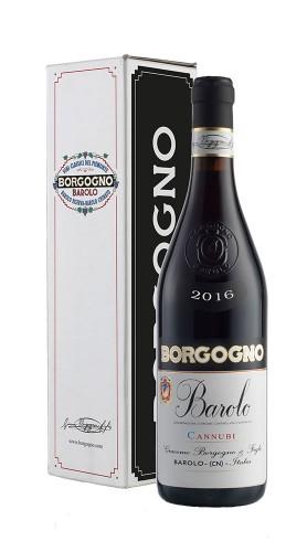 Barolo DOCG Cannubi Borgogno 2016 con confezione