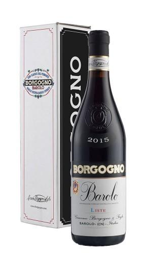 Barolo DOCG Liste Borgogno 2015 con confezione