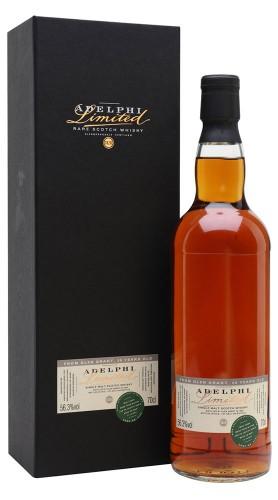 """Whisky """"Glen Elgin"""" Adelphi Distillery 13 anni 2006 70 cl con Confezione"""