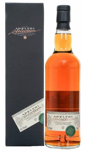 """Whisky """"Glenrothes"""" Adelphi Distillery 10 anni 2009 70 cl con Confezione"""