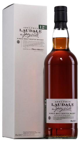 """Whisky """"Laudale batch 4"""" Adelphi Distillery 12 anni 70 cl con Confezione"""