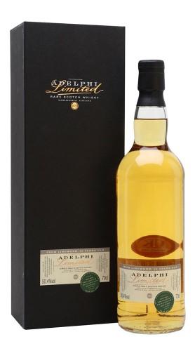 """Whisky """"Linkwood"""" Adelphi Distillery 25 anni 1993 70 cl con Confezione"""