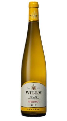 Riesling D'alsace Réserve AOC Alsace Willm 2019