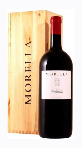 """""""La Signora"""" Primitivo Salento IGP Morella 2014 MAGNUM in Box di Legno"""